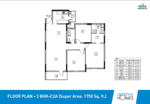3BHK-C2A