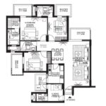 3 BHK+S Room (2066 SQFT)