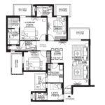 3 BHK+S Room (2066 SQFT)